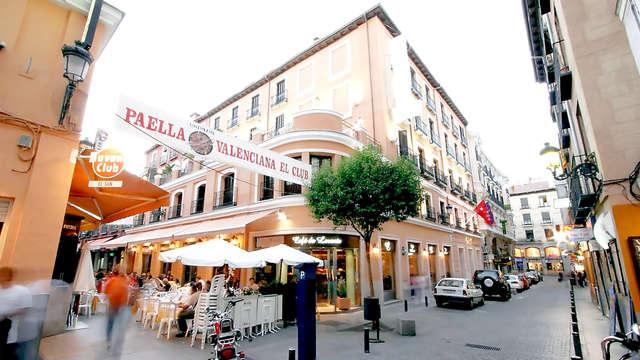 Getaway in het hart van Madrid, naast de Puerta del Sol, inclusief ontbijt