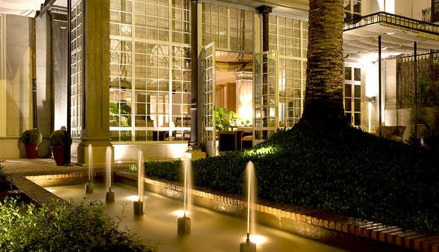Découvrez Grenade avec accès au spa dans un hôtel de luxe, de design et de charme