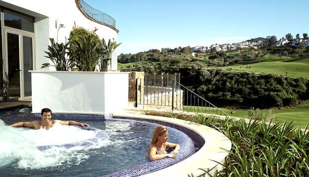 Escapada con cena y spa en un complejo exclusivo rodeado de naturaleza en La Cala de Mijas