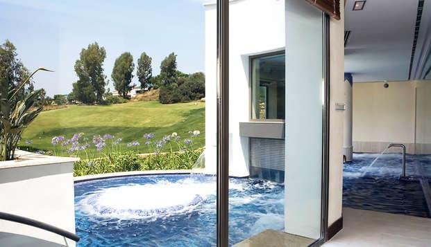 Escapada relax en un resort de lujo: acceso al spa con unas vistas únicas