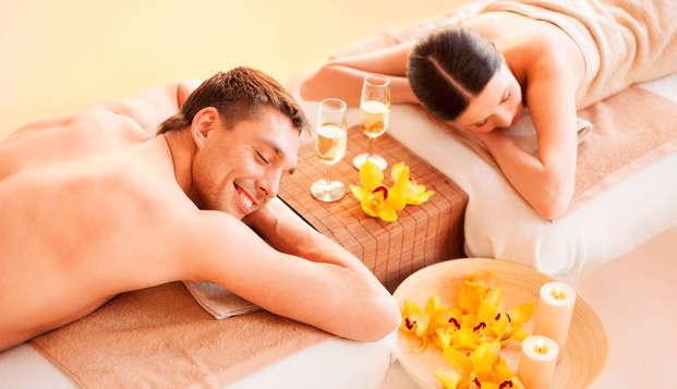 Parenthèse bien-être avec massage dans un cadre verdoyant aux portes de Paris