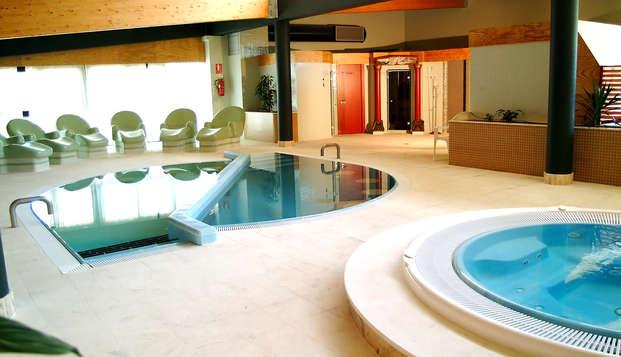 Escapada relax con acceso a las piscinas termales cerca de Ourense