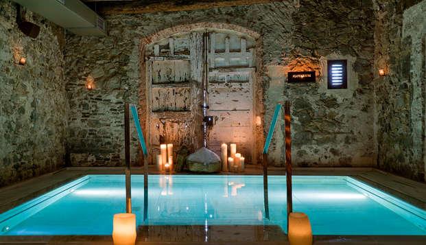 Week-end  de luxe en suite vue jardin avec spa près de Barcelone