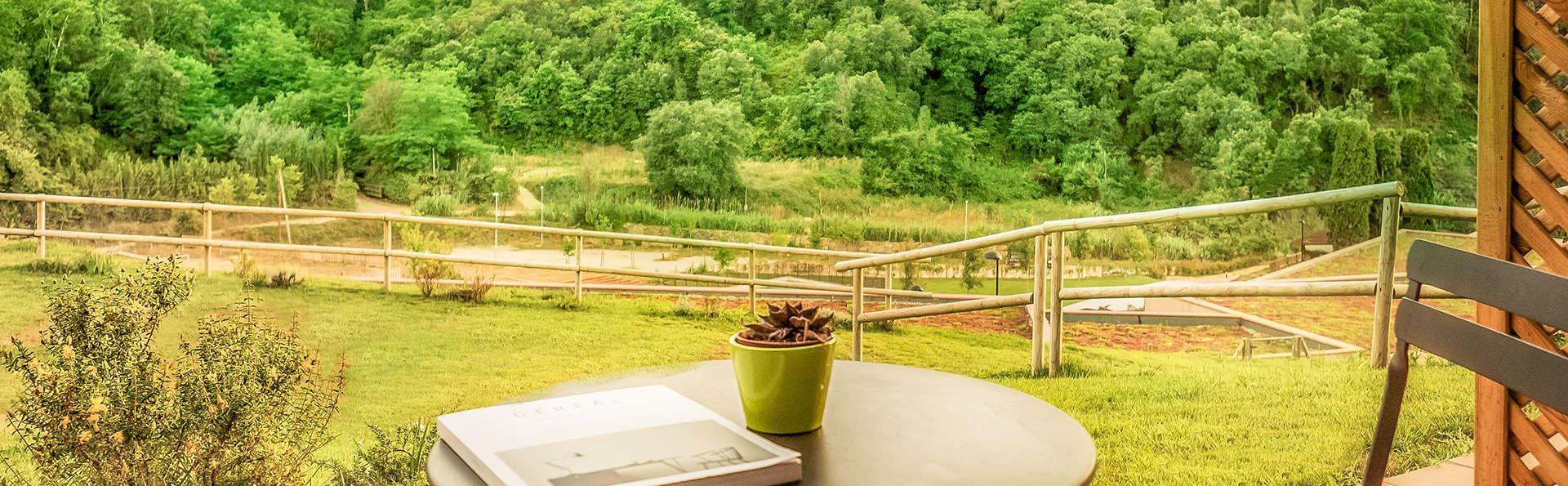 Descubre un resort 100% ecológico: con delicioso desayuno y habitación superior con jardín