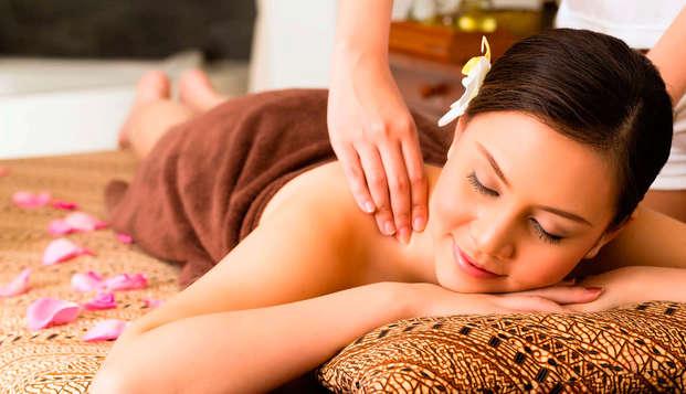 Desconecta y relájate con un masaje y Spa en Valdepeñas