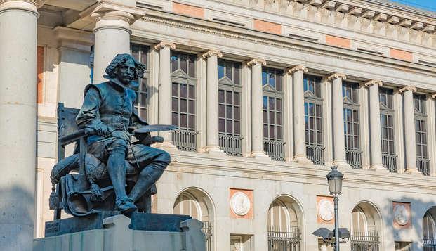 Visite du musée du Prado et séjour dans un hotel design