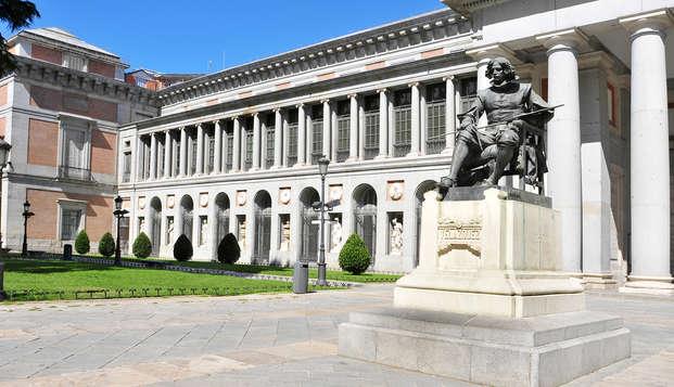 Escapada en el exclusivo barrio Salamanca visita al Museo del Prado