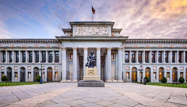 Visitez le musée du Prado sans file d'attente et séjournez dans un 4*