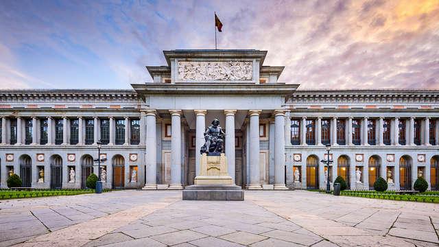Escapada Cultural en pleno centro de Madrid con visita al Prado incluido
