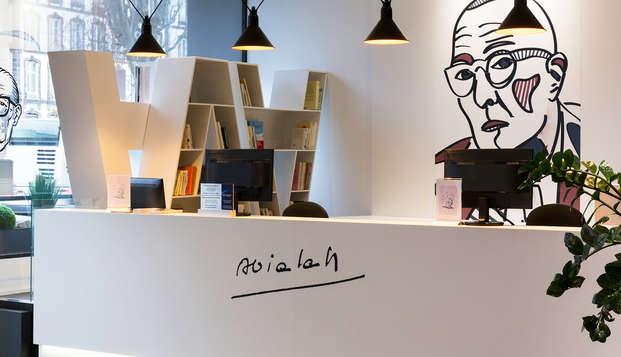 Best Western Plus Hotel Litteraire Alexandre Vialatte - reception