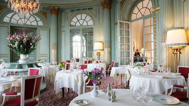 Gastronomie dans un château luxueux