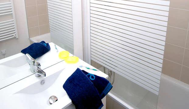 Vacanceole Domaine de la Corniche Deauville Sud - Bathroom