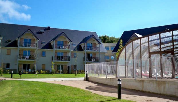Vacanceole Domaine de la Corniche Deauville Sud - Front