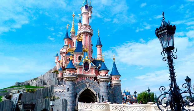 Escapada con acceso a Disneyland®(de 2 a 4 personas)