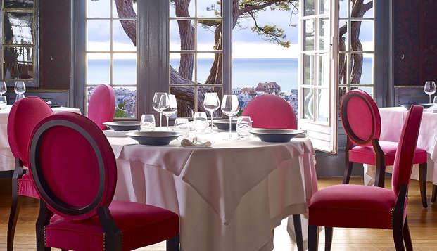 Week-end avec dîner et vue sur les falaises d'Etretat