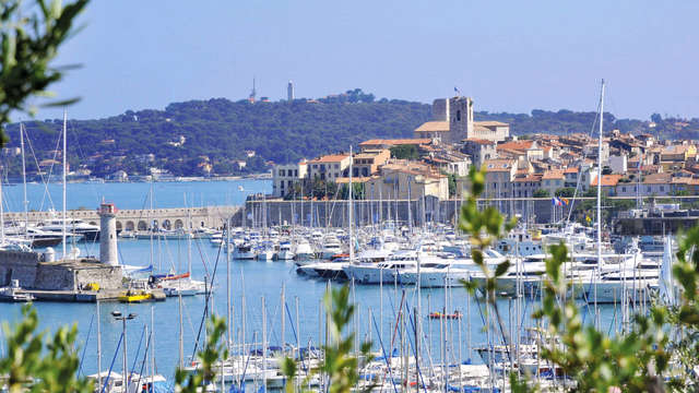 Week-end détente en famille à Antibes