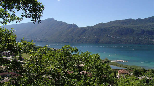 Week-end à côté du lac du Bourget, dans la ville thermale d'Aix-les-Bains