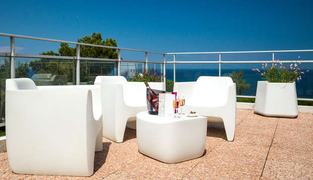 Cote Thalasso - Banyuls sur mer - terrace