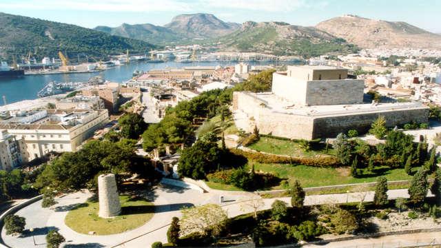 visita al castillo de la Concepción para 2 adultos
