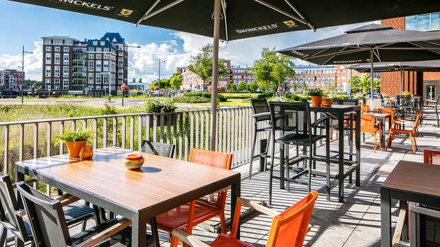 City Resort Hotel Helmond - new terras