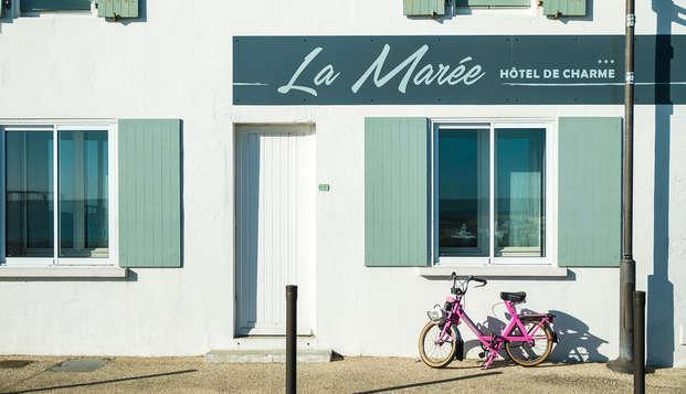 Hotel de la Maree - Ile de Re - front