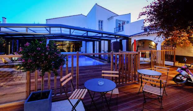 Hotel de la Maree - Ile de Re - terrace