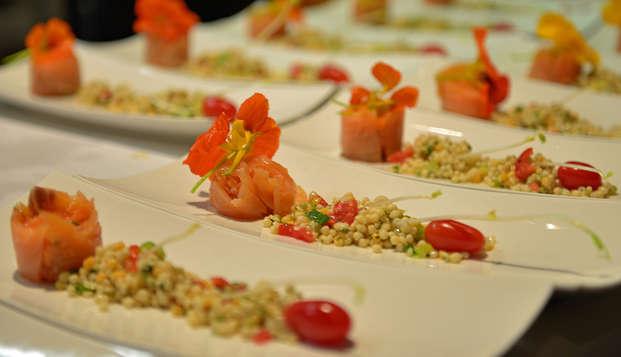 Ontspannen met privé jacuzzi en 3-gangen diner in West-Vlaanderen