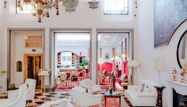 Lujo y gastronomía de 5* en Florencia