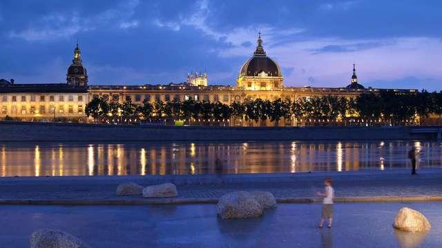 Luxe et modernité dans un 5* au cœur de Lyon