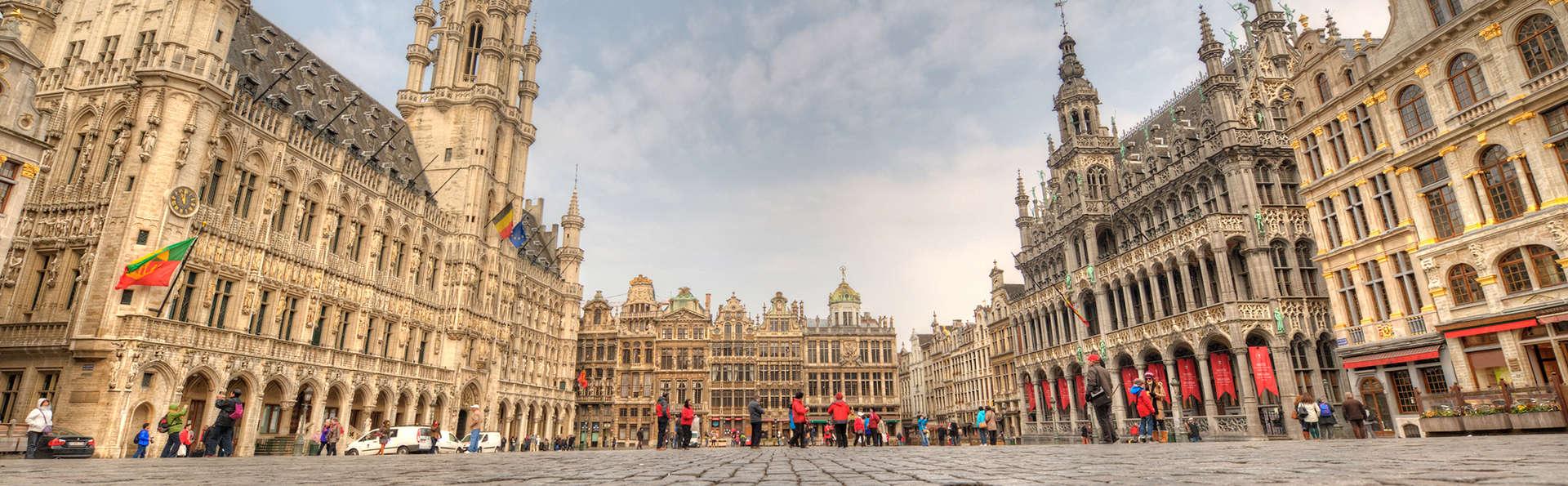 Luxueus verblijf in een traditionele suite in Brussel