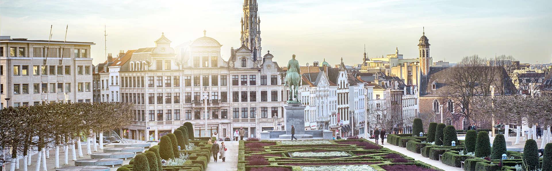 Citytrip dans une chambre supérieure au coeur de Bruxelles