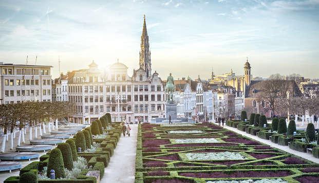 Descubre Bruselas en una habitación superior en pleno centro