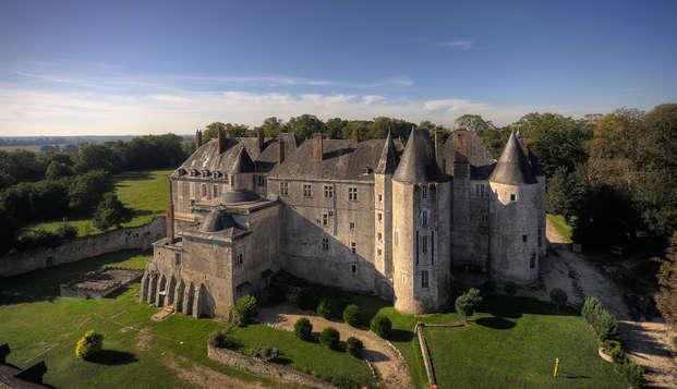 Descubre el castillo de Meung-sur-Loire y disfruta de una deliciosa cena (desde 2 noches)