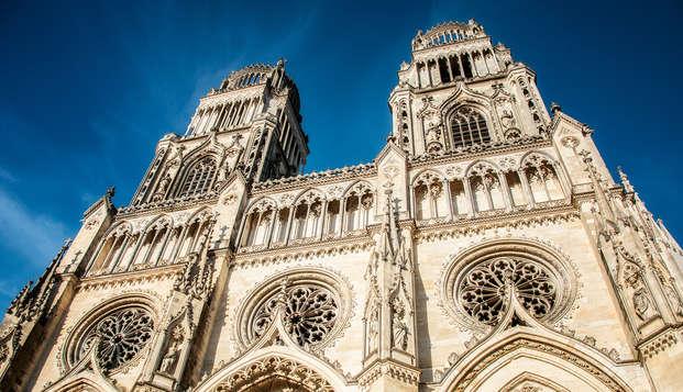 Week-end découverte et gourmand à Orléans avec citypass et dîner