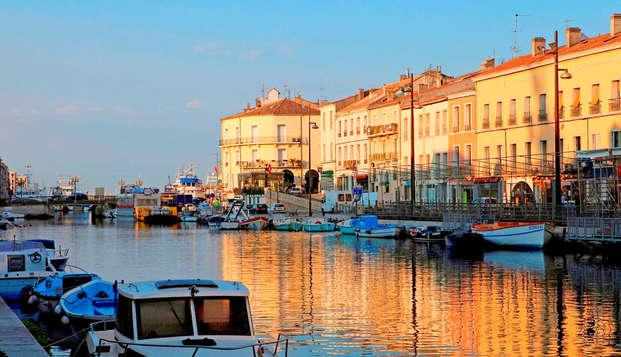 Week-end détente à Sète en suite duplex
