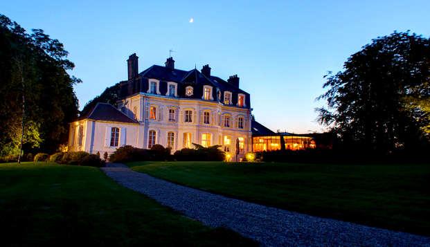 Week-end détente dans un château proche de la Côte d'Opale