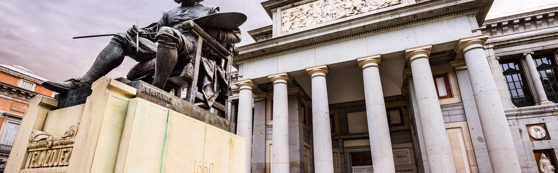 Visitez le musée du Prado pendant votre escapade dans la capitale espagnole dans un hotel 4 étoiles