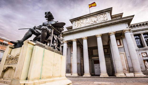 Escapada en un apartamento en el barrio de Salamanca visita al Museo del Prado