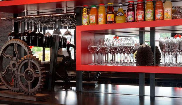Hotel Restaurant Le Fruitier - bar