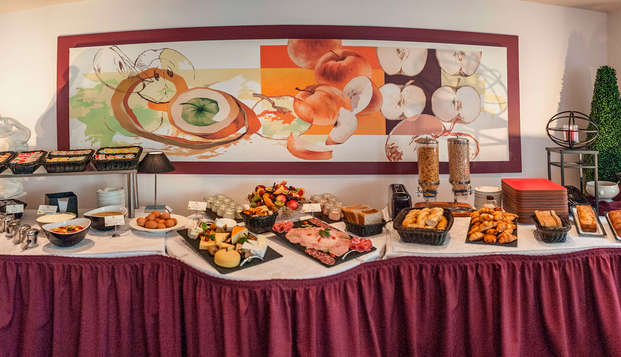 Hotel Restaurant Le Fruitier - breakfast