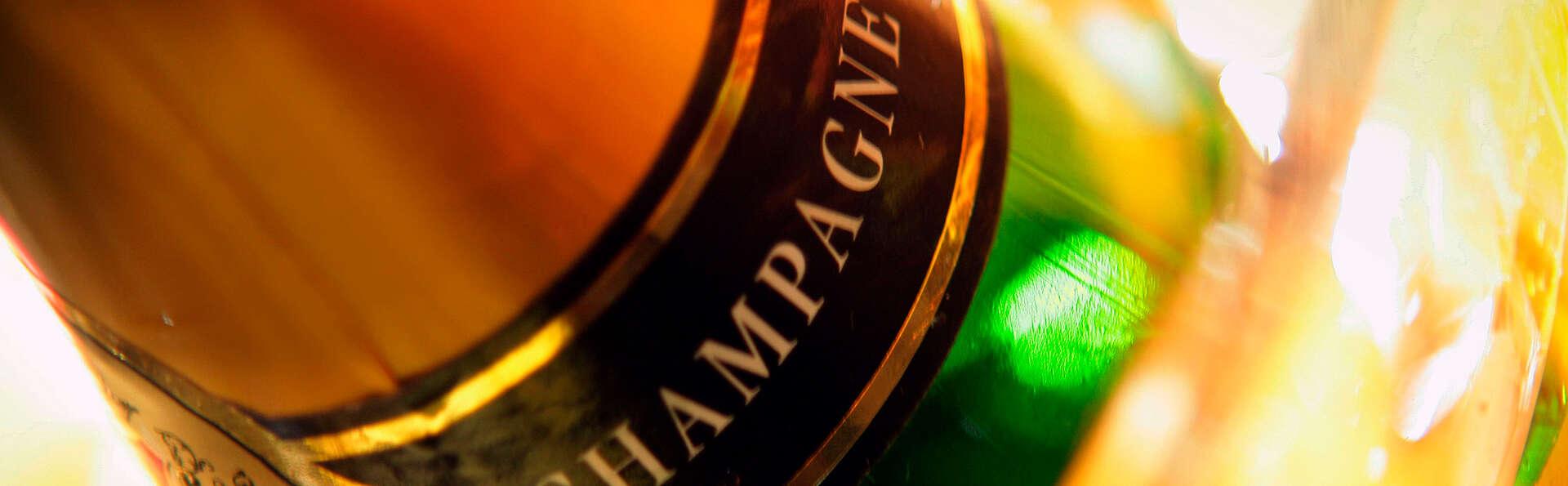 Week-end détente avec champagne en chambre Privilège près du Mont-Saint-Michel
