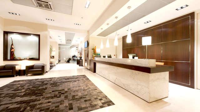 Elige un elegante hotel a las afueras de Cosenza, entre Sila y la costa del Tirreno