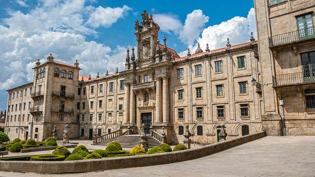 Escapada con ambiente romántico y parking en las puertas de Santiago de Compostela
