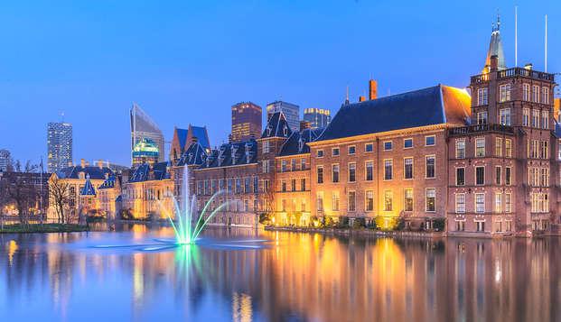 Pasa la noche en una habitación de lujo cerca del centro de La Haya
