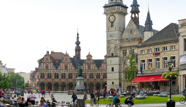 Descubre la ciudad flamenca de Aalst en bicicleta (desde 2 noches)