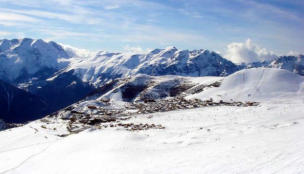 Week-end en famille avec dîner, au coeur de l'Alpe d'Huez