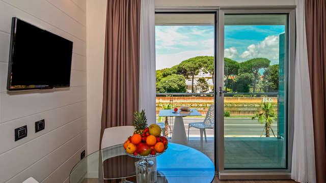 Long séjour à Viareggio près de la mer