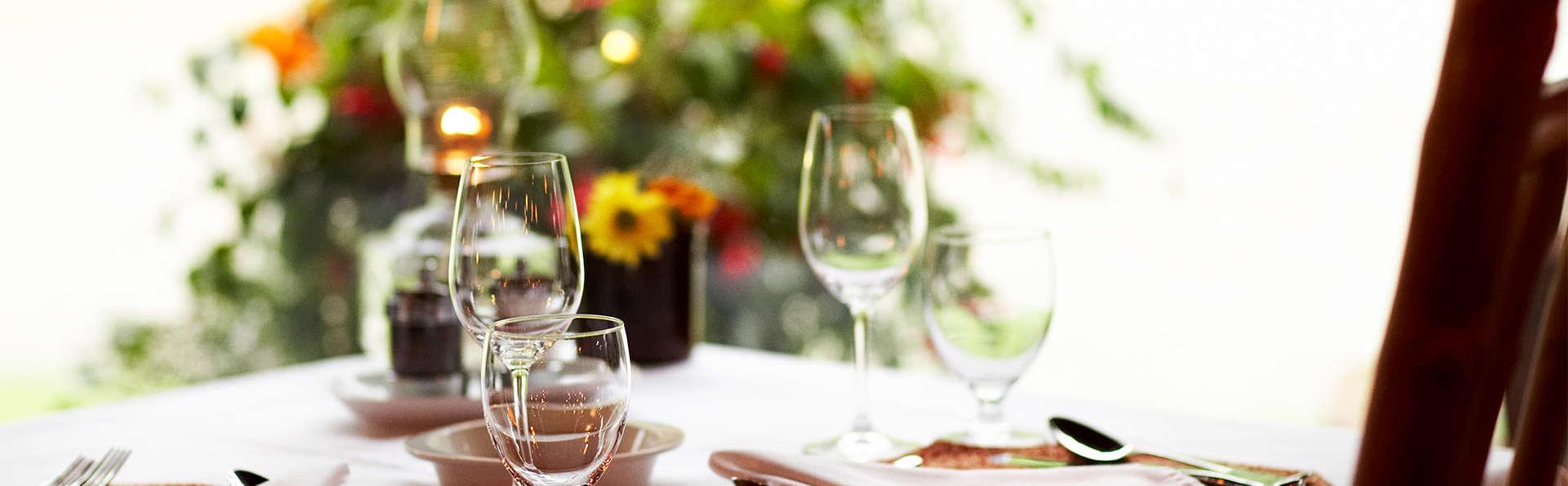 Gastronomie avec dîner et dégustation de vin à Chinon