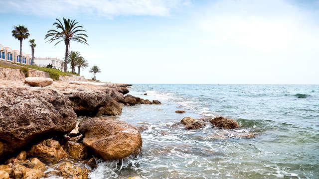 Escapada en pleno paseo marítimo de Santa Pola, Alicante