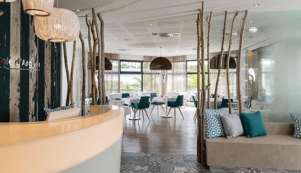 Hotel les bains d Arguin Spa by Thalazur - lobby restaurant